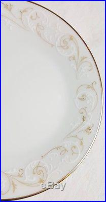 115 Pc Noritake Duetto China Dinner Serving Set 12 Place Settings Platters 6610