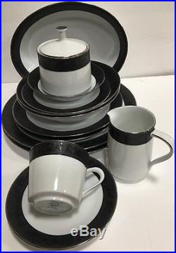 16 Pc. Noritake Sharon Fine China Service Set For 2 (Plates, Bowls, Cups, Saucers)
