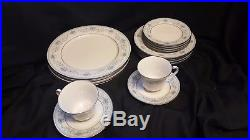 16 pc SET Noritake China BLUE HILL Service for Four
