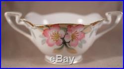 1920s Vintage Noritake Azalea China Porcelain Tea Set of 15 Hand Painted