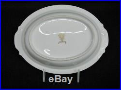 1940's Set of 3 Noritake LADY ROSE Hand-Painted China Oval Serving Pieces Mint