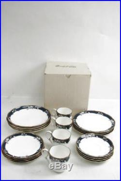 20 Piece Noritake Bone China #9742 Sandhurt Dinnerware Set Service for 4 with Box
