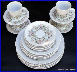 20 Piece Set ELYSIAN by NORITAKE PROGRESSION CHINA Dinner for 4, 8 or 12 +