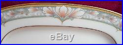 20 pc NORITAKE BARRYMORE DINNERWARE PLACE SETTING DINNER PLATE SALAD CUP #9737