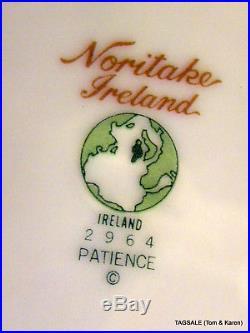 20 pc set NORITAKE iRELAND china PATIENCE pattern 4 X 5 Piece Place Settings