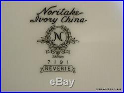 20 pcs NORITAKE IVORY china REVERIE pattern 4 X 5 Piece Place Settings read