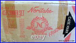 20 pcs NORITAKE bone china EMPERIAL GARDEN 9720 4 X 5 Piece Place Settings