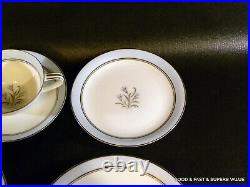 20 pcs NORITAKE china BLUEBELL pattern # 5558 4 X 5 Piece Place Settings