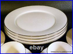 20 pcs NORITAKE ivory china AFFECTION pattern #7192 4 X 5 Piece Place Settings