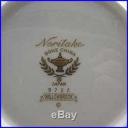 20pc SET Noritake Bone China WILLOWBROOK Service for Four