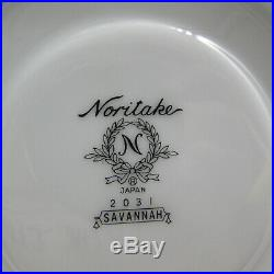 20pc SET Noritake Fine China SAVANNAH 2031 Service for Four