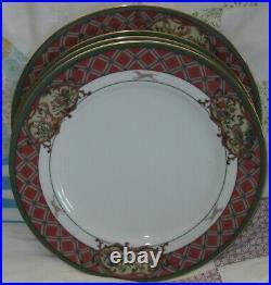(20pc) Service For 4 Noritake Royal Hunt China #3930 Display Cabinet Set
