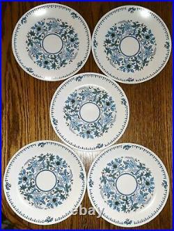 27 piece set Noritake Progression China Blue Moon 9022 dinner plates/bowls/cups