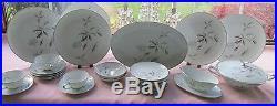 28 Pcs Noritake China Japan 5765 Corliss Pat 181075 Dinner Set +many Serv Pcs