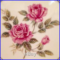 28 Piece Noritake Arlington China Set Svc for 4 5221 Pink Roses Excellent