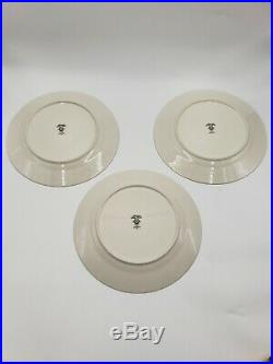 3 Noritake Gallery Ivory China 5 pc Place Setting (7246) plates & tea cups