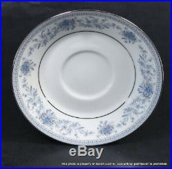 40-PC NORITAKE CHINA Blue Hill 8 Place Settings Plates, Cups, Saucers