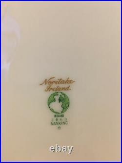 41 Piece Set NORITAKE Ireland China Nanking pattern Gold Trimmed Mint Condition
