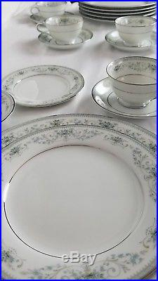 42 Pc Set Colburn 6107 by Noritake China 6 piece Place Settings Serves 7