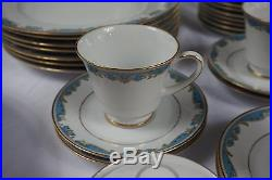44 Pcs Noritake Oberlin China Set 2386 Service For 8