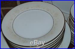 44 Piece Set of Noritake China Dearest #2034 Pattern Service for 8 + EUC