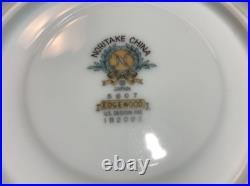 46 Piece Noritake China Glenwood Dinnerware Set For 12