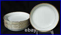 46 pc NORITAKE NIPPON Dinnerware Set MIKADO Service / 8 porcelain china
