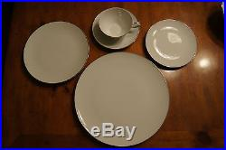 46-piece Noritake Colony 5932 China Starter Set withsome serving pcs White Coupe
