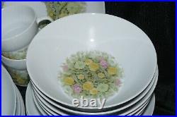 47 Piece Set of Noritake Japan Younger Image China Bimini #6923 Service for 6+