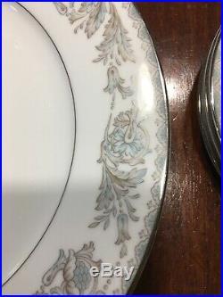 4x. Nice Noritake China Belmont 5609 Place Settings Plates Cup Saucer Bowl