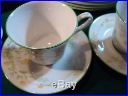 50 Piece Set Of Noritake Ivory China 7191 Reverie Service For 9