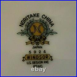 54 Piece Noritake China Windsor 5924 Pattern Made in Japan China Set Flawless