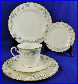 54pc Set Noritake Brookhollow China Dinnerware Service for10 5pc Place Settings