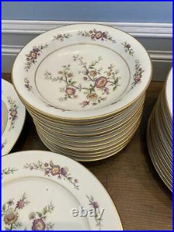 65 Pcs Noritake Ivory China #7151 Asian Song Set for (12) Bowls Plates Serving