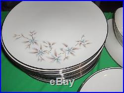 67 Pc Set Lenox Ivory-China Wyndcrest Platinum Bands A500 NICE