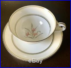 68-pc NORITAKE china KENT 5422 pattern Dinnerware Set 1953-1962