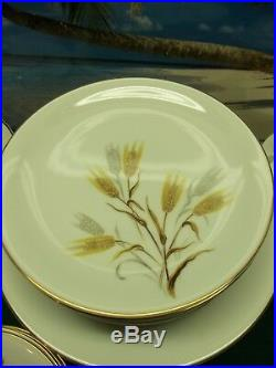69 Piece Set Of Noritake China Pattern 5414 Wheaton