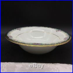 6 Noritake Mi Amor 4717 Fruit Sauce Nut Bowls Lot Set Bone China Porcelain