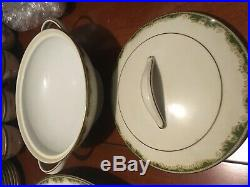 7 pc Serving Set (Platters, bowls) NORITAKE China WARRINGTON pattern 6872 NICE