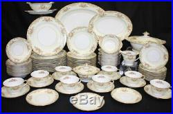 80 Pc Vintage Noritake 6000 CAMELOT China Set Serive for 10 + Serving Pieces 38