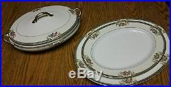 80+ piece Noritake Grasmere vintage dinner set Japan Fine China Service for 10