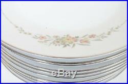 81 Piece Noritake 6504 GINA Floral Golden Pattern Fine China Set Beautiful Nice