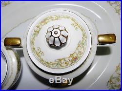 82 Pieces Noritake M Vanity Pattern China Almost 12 Place Settings Serving Japan