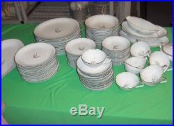 87 Pc Set Vintage Noritake China Sanford Pattern #5860