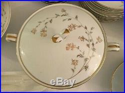 92+ Noritake China Pattern Andrea #5524 Service For 12 Dinnerware Set + serving