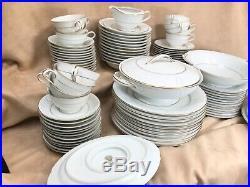 92 Piece Set Noritake China 6217 Graymont 12 Placesettings Shipping Will Vary