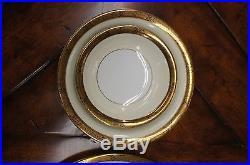 94 Piece Vintage Noritake Goldkin China Set 5675 Floral Trim Dinner Service