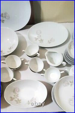 96 piece vintage Noritake china kitchen bowls dinnerplate sets 6343 Edenrose