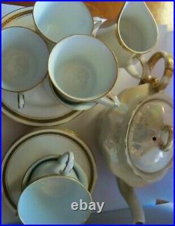 A vintage Noritake fine china tea /coffee set (6)