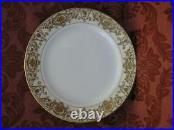 Antique Noritake 175 Christmas Ball China 10 Dinner Plates Set of 4 Nice